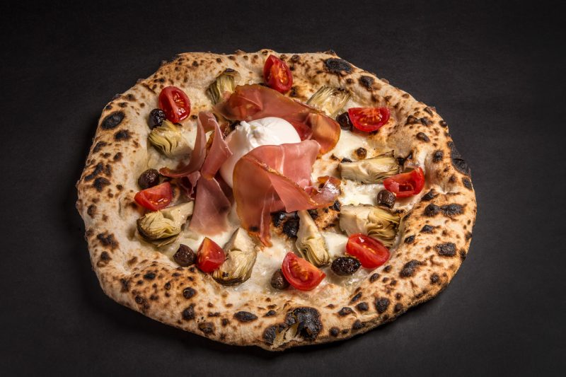Pizze della Pizzeria Il Pomodorino a Siena